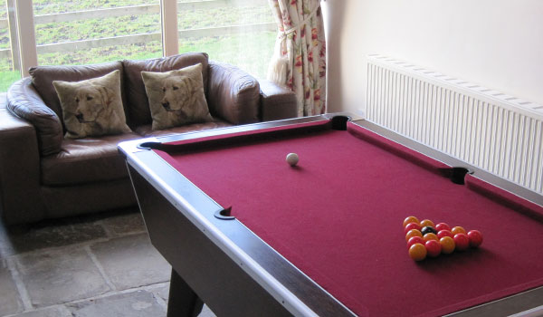 Bullace Barn Games Room