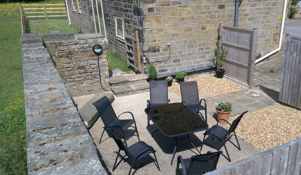 Bullace Barn Patio